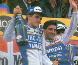 Garriga, un fenómeno de la moto, junto a su rival deportivo Sito Pons