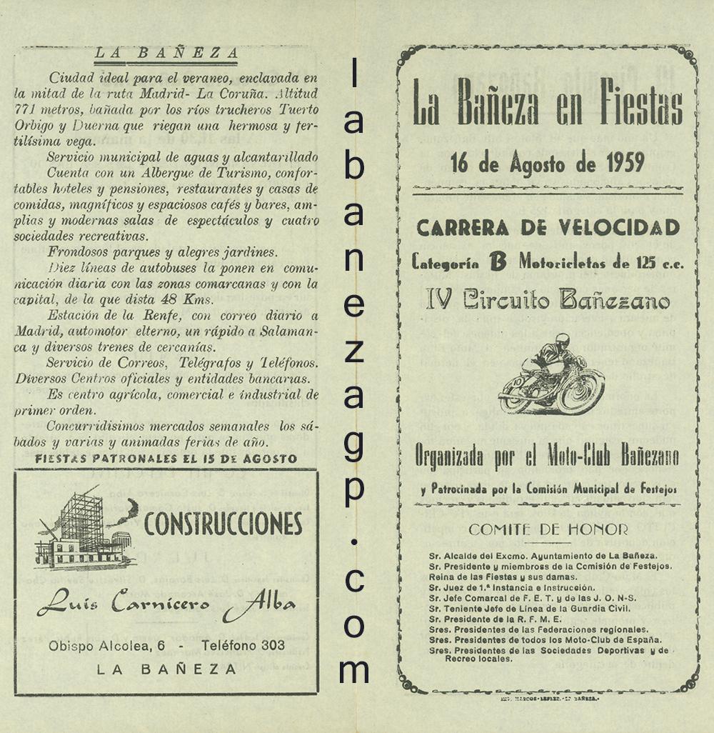 Circuito Urbano La Bañeza : El gran premio de la bañezael gran premio de la bañeza el