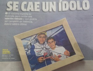 La portada del Marca hoy, 26 de octubre de 2015.